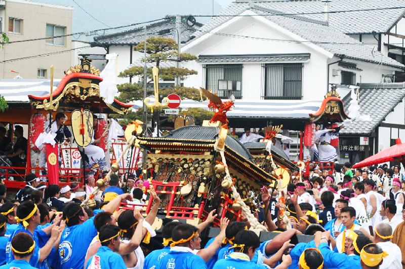 臼杵祇園まつりの写真