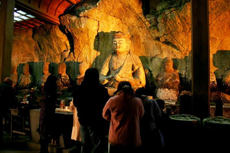 臼杵石仏特別祈願法要の写真